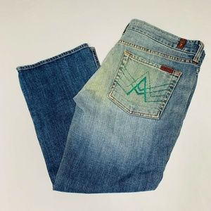 7 For All Mankind Jeans Womens Size 32 Cotton